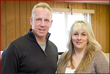 David Hamburger, Owner, President, Kathy LaMont, Office Manager, Sales Rep, baling wire Brockton MA
